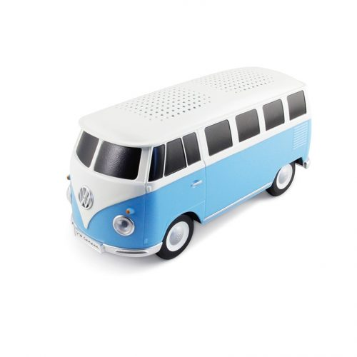 VW T1 Bus Bluetooth Speaker - blue/white
