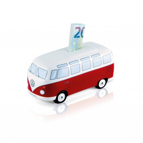 VW T1 Bus Money Bank Ceramic (1:22) - Classic/red