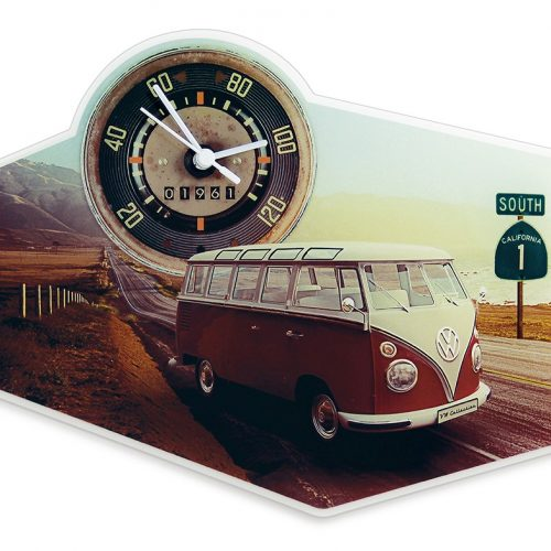 VW T1 Bus Wall Clock - Acrylic