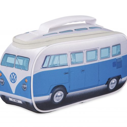 VW T1 Bus Lunch Bag - blue