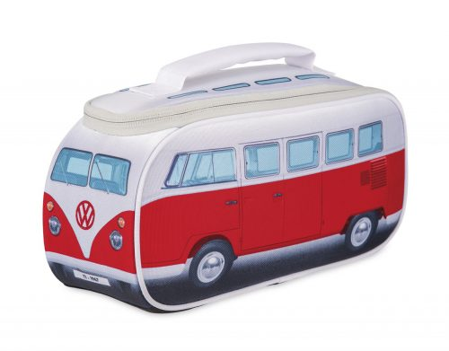 VW T1 Bus Lunch Bag - red